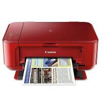 Canon佳能到【點數最高 10 倍送】Canon PIXMA MG3670 無線雙面多功能複合機 睛豔紅