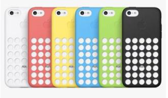 Apple iPhone 5C 原廠洞洞殼 矽膠 保護套 保護殼 全新公司貨 CAS2-IP5C 好買網