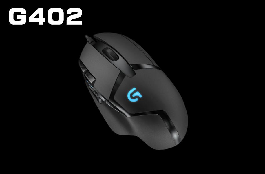 特惠【迪特軍3C】 Logitech 羅技 G402 電競滑鼠 Hyperion Fury 光學滑鼠