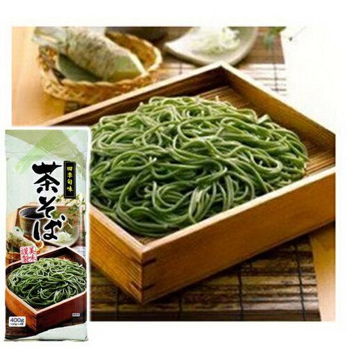 山本製粉四季旬味抹茶蕎麥麵 (400g)