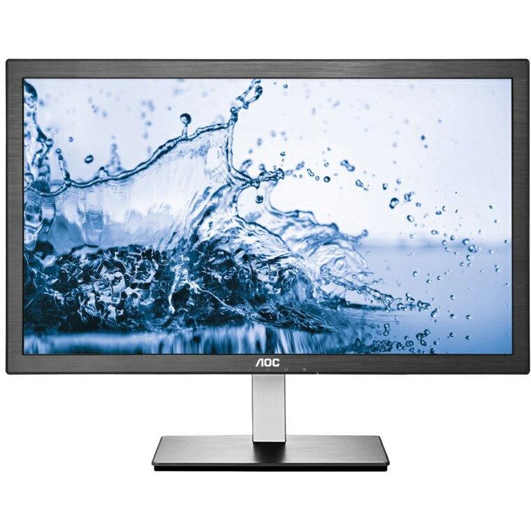 "24"" AOC HDMI/VGA Slim LED IPS LCD Monitor Full HD 1080p Widescreen - I2476VWM 0"