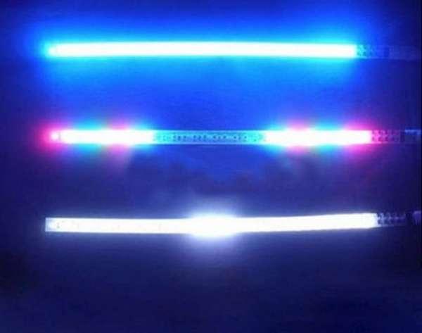 60cm 12V 霹靂遊俠燈 防追尾警示燈 汽車爆閃燈 機車燈條 LED燈條 60公分燈條 跑馬燈 機車改裝