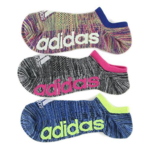 日本愛迪達Adidas襪子短襪抗菌防臭彩色放射線三入437252代購