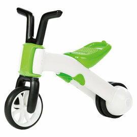 【淘氣寶寶】比利時 Chillafish 二合一寶寶平衡車-青草綠【三輪變二輪,高C/P值的幼兒玩具車】
