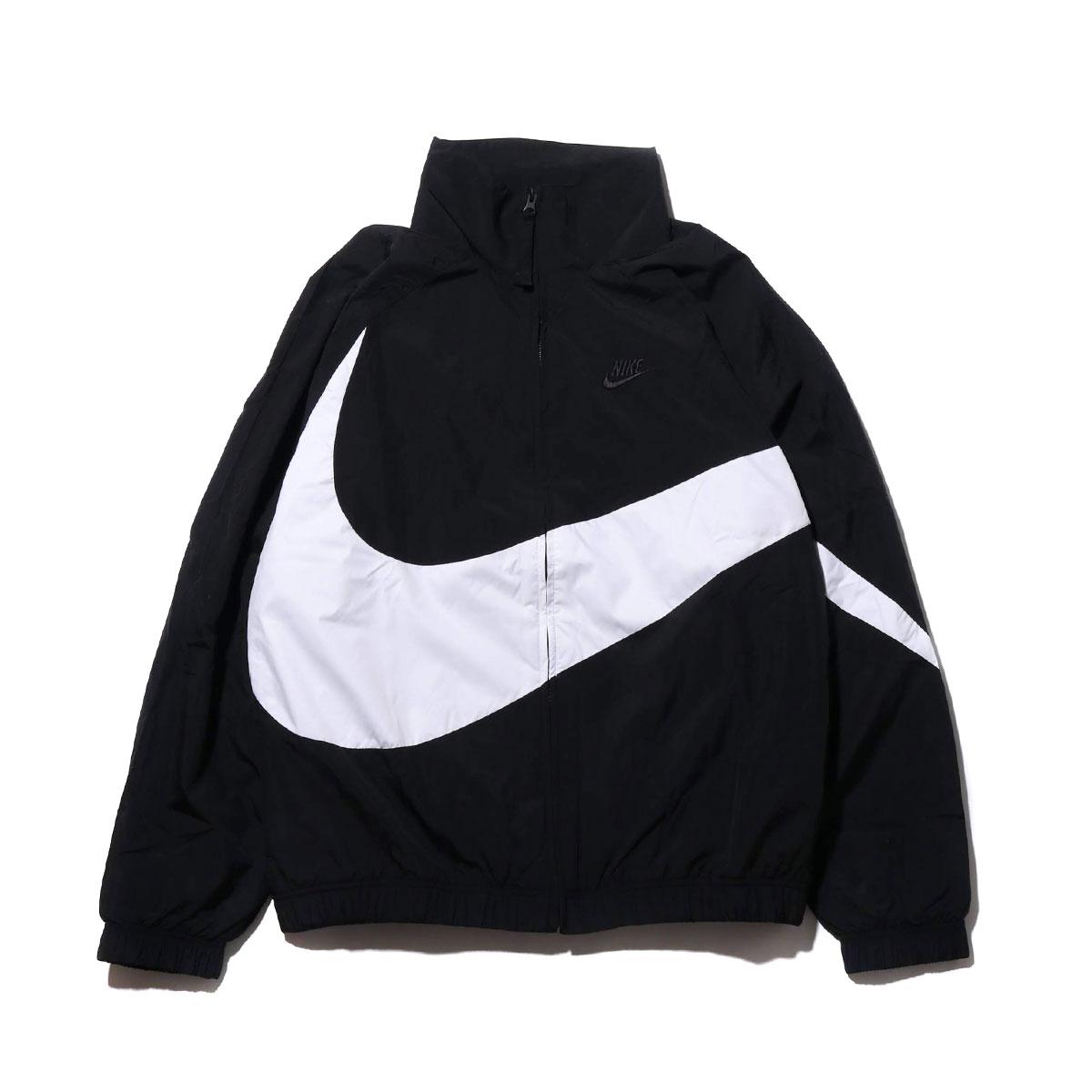 (冬季出清)【NIKE】Sportswear 大LOGO外套 編織外套 外套 黑 男女 AR3133-010 (palace store) 0