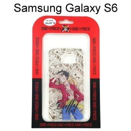 海賊王透明軟殼 Samsung G9200 Galaxy S6 [漫畫] 魯夫 航海王保護殼【正版授權】