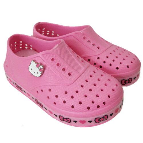 【真愛日本】童防水鞋815768-粉16-21 三麗鷗 Hello Kitty 凱蒂貓 孩童雨鞋 雨具 正品