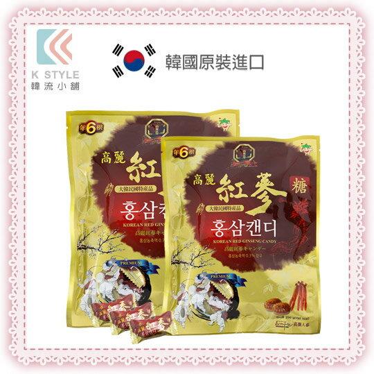 韓國 HEAGAWOORIN 高麗 紅蔘糖 200g 過年送禮 母親節 禮品 禮盒 招待