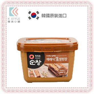 【 韓國 大象 】韓式黃豆醬(味噌) 大醬湯 韓式料理