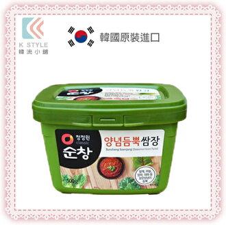 【 韓國 大象 】韓式蔬菜調味醬 500g 韓式料理 韓式烤肉 生菜包肉