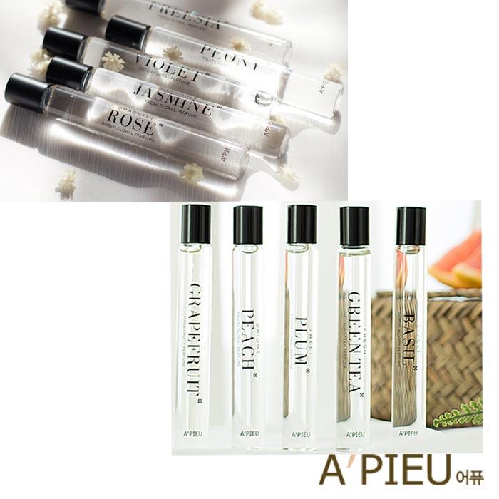 韓國 A'PIEU 香氛滾珠香水瓶 10ml 小香水 香氛 滾珠香水 Jo malone A pieu APIEU 奧普