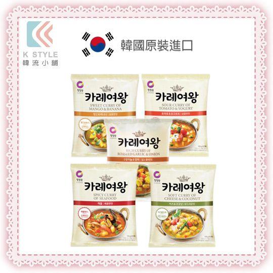 韓國 Daesang 大象 咖哩女王調理包 108g 咖哩粉 咖哩醬 調味包 調理包 料理包