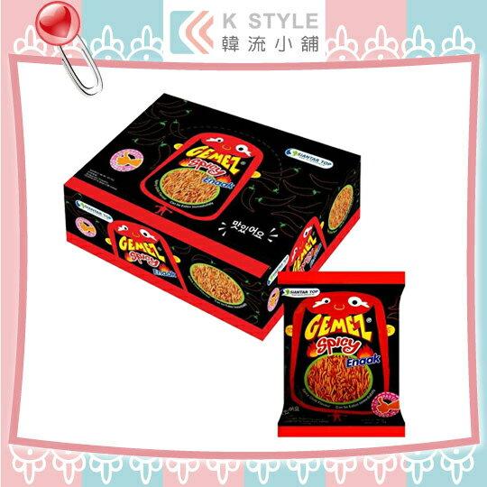 韓國 Enaak 辣味小雞點心麵 (14g*30包/盒) 辣味 點心麵 隨手包 香脆點心麵 點心脆麵 小雞麵