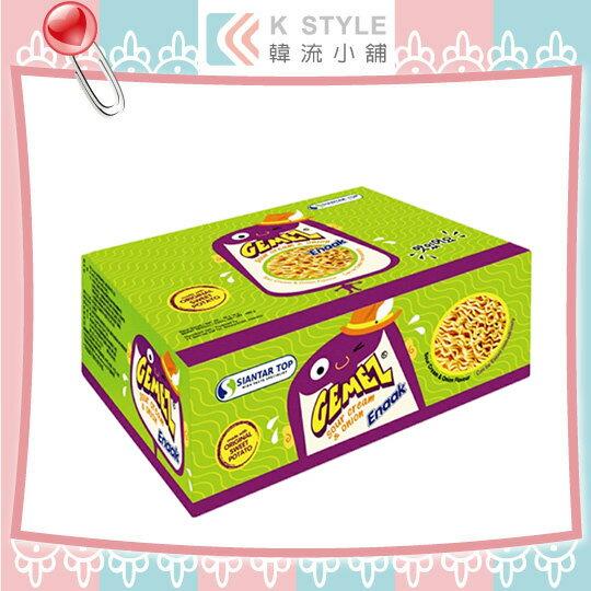 韓國Enaak奶油洋蔥小雞點心麵(16g×30包盒)香脆點心麵奶油洋蔥小雞麵點心脆麵小雞麵點心麵