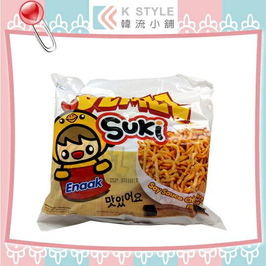 ENAAKGEMEZSUKI韓式小雞麵(30g×6入袋)小雞麵點心麵點心脆麵