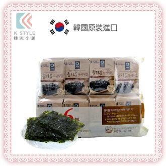【 韓國大象 】調味海苔(新包裝) 16包/袋 韓國零食 伴手禮