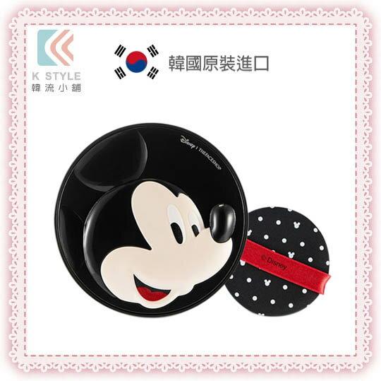 韓國 THE FACE SHOP 迪士尼聯名 BB完美修容彈力感氣墊粉餅 米奇 氣墊粉餅 米老鼠 15g