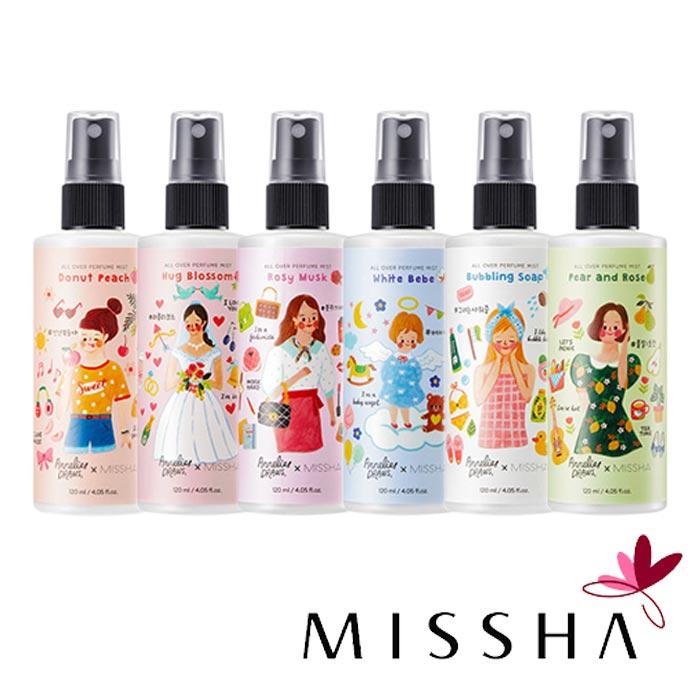 MISSHA 最新彩繪款身體香氛噴霧 120ml 身體香芬香水 JoMalone