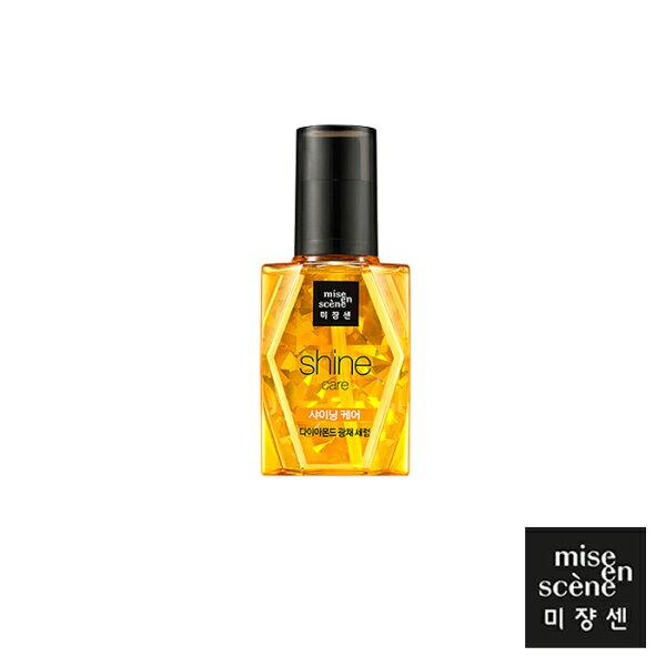 韓國Miseenscene鑽石光采護髮精華油70ml金鑽全效浪漫花香現代麝香玫瑰護髮精華油