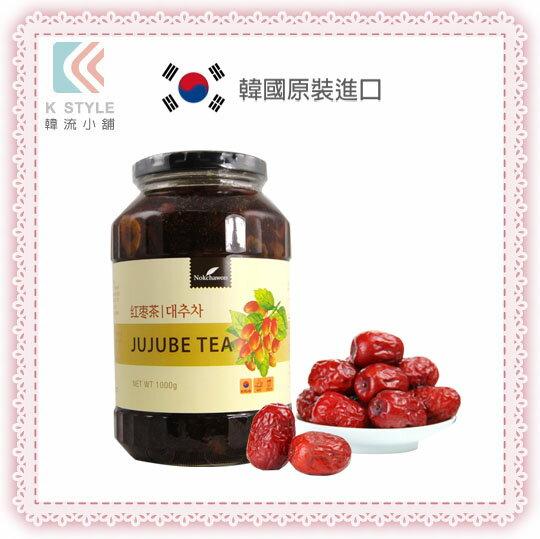 韓國  Nokchawon  綠茶園 蜂蜜紅棗茶 蜂蜜 紅棗 1kg 沖泡飲品 下午茶 果醬
