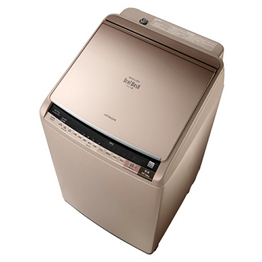 好禮送【HITACHI日立】10KG日製變頻直立式洗脫烘洗衣機SFBWD10W