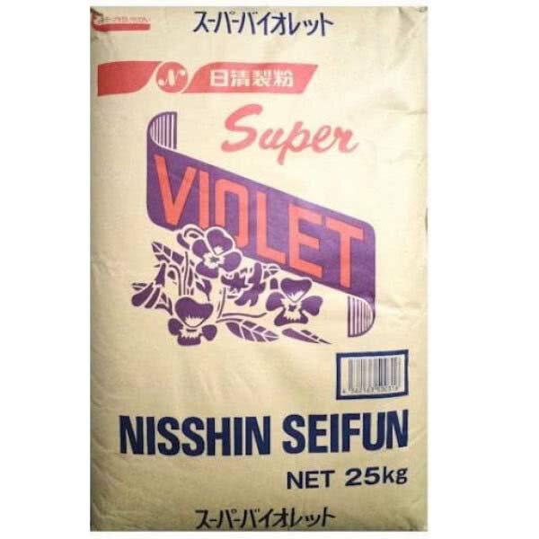 ~樂焙客~ 25kg~日清紫羅蘭 特 薄力粉Super Violet Cake Flour