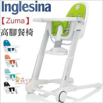 +蟲寶寶+【義大利 Inglesina】義大利王者品牌 英吉利那 Zuma 成長型高腳椅/高腳餐椅-綠