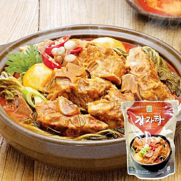 韓國 真韓馬鈴薯豬骨湯1000g 速食調理包[KO8809033]千御國際
