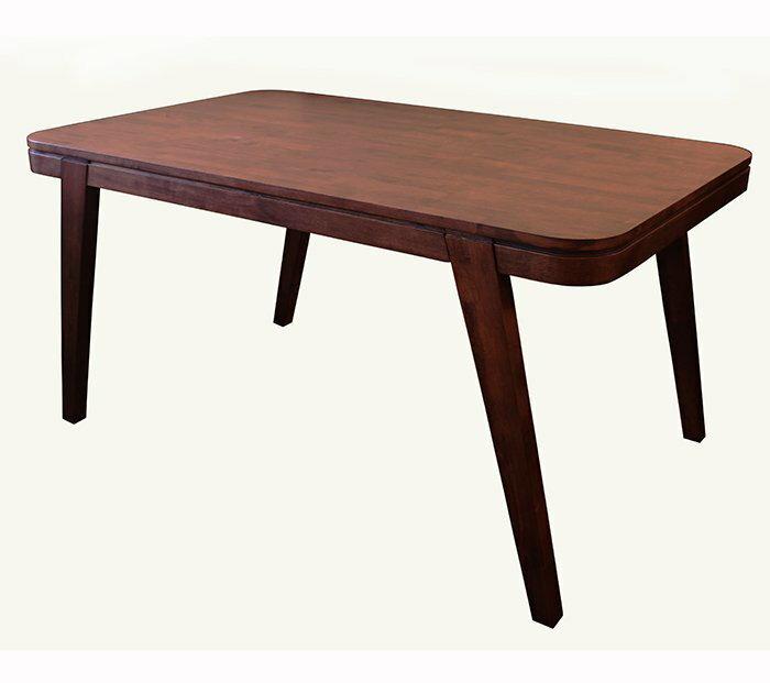 【尚品傢俱】873-05 巴西利亞 實木餐桌/團圓桌/聚會桌/飯店桌/食堂桌/餐廳桌/Dining Table