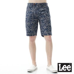 Lee 休閒印花雙面穿短褲/RG-男款