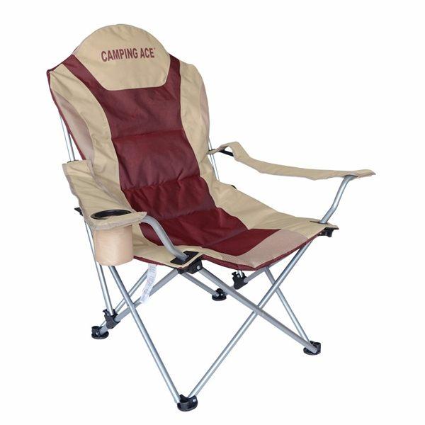 【速捷戶外】ARC-813野樂Camping Ace三段可調式豪華休閒椅 高背椅.折合椅.露營椅.折疊椅