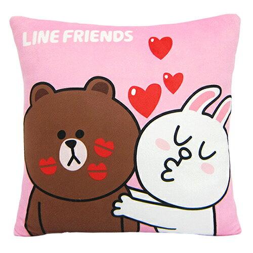 【享夢城堡】方枕-LINE FRIENDS KISS啾一下