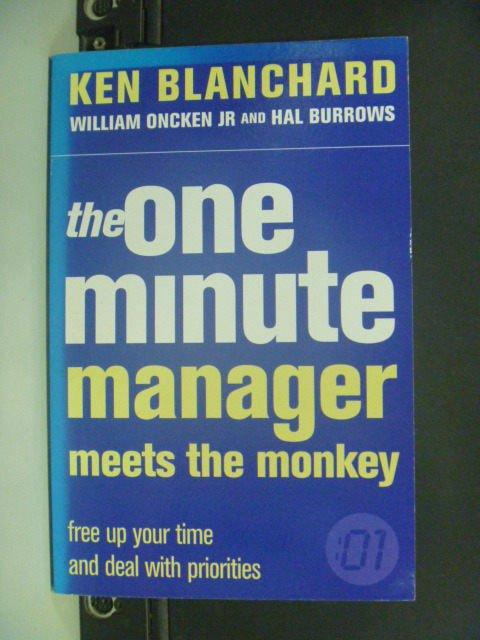 【書寶二手書T7/財經企管_IKD】The One Minute Manager Meets…