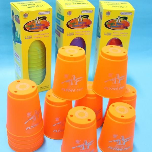 速疊杯 競技疊杯 疊疊杯 飛疊杯12個入P12(粉彩版) / 一盒入 { 促150 } 史塔克比賽用智力疊杯樂 CF111562 2