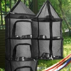 美麗大街【CF8002】 特價韓國品牌加厚乾燥網戶外野營置物網架曬網折疊掛網曬乾籠網兜