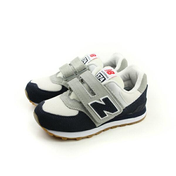 New Balance 574系列 跑鞋 白色/深藍 童 no258