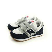 New Balance 美國慢跑鞋/跑步鞋推薦New Balance 574系列 跑鞋 白色/深藍 童 no258