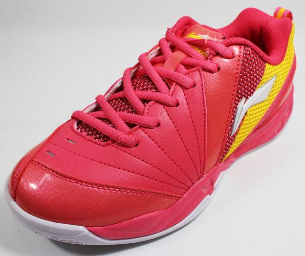 陽光運動館:[陽光樂活]LI-NING李寧羽球專業鞋-LNAYTL022-2桃紅