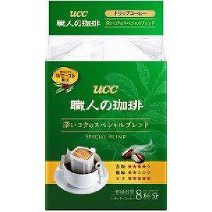 UCC職人濾式咖啡8入-精選濃郁 (56g)