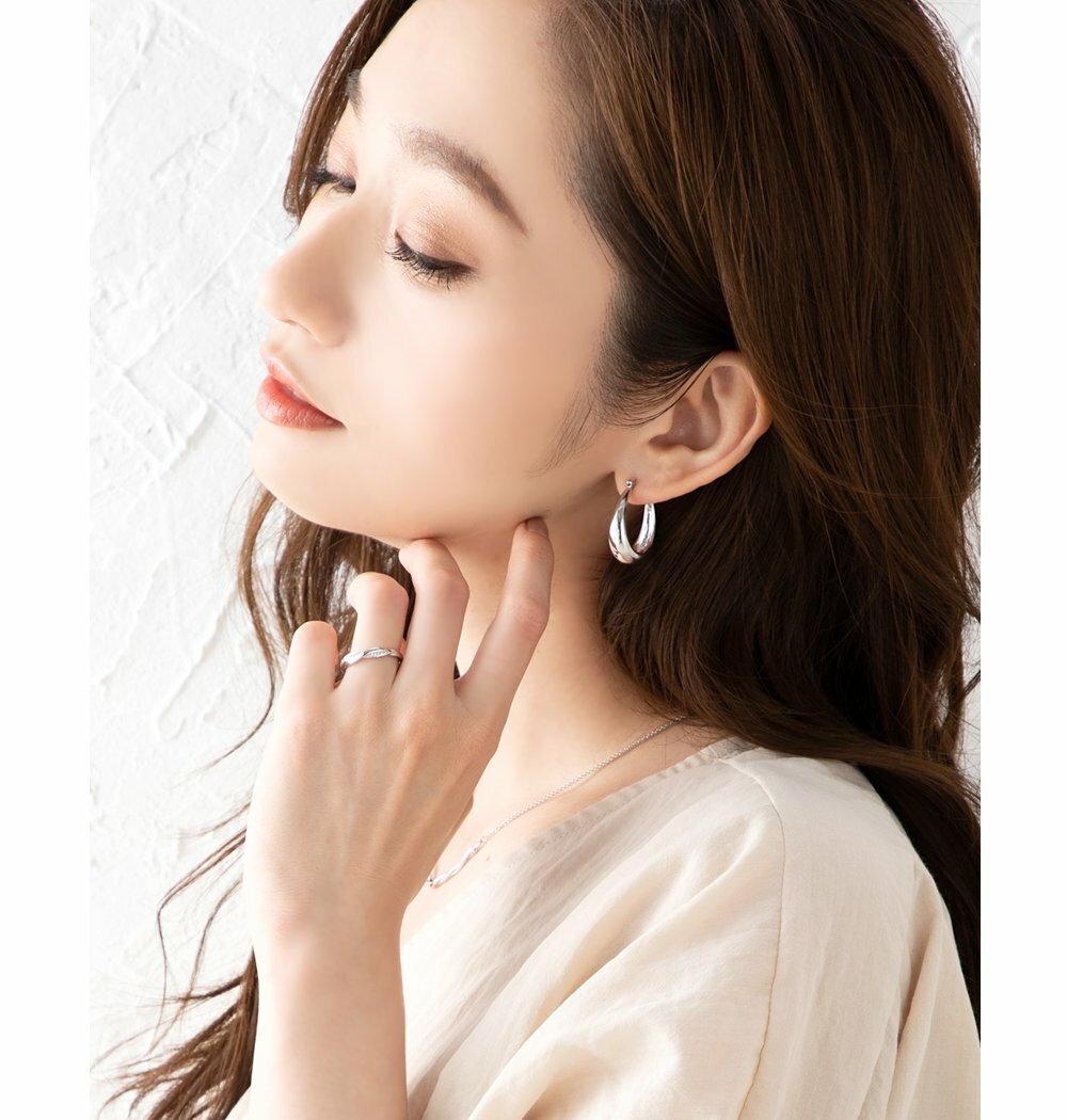 日本Cream Dot  /  925優雅交錯戒指  /  p00003  /  日本必買 日本樂天代購  /  件件含運 6