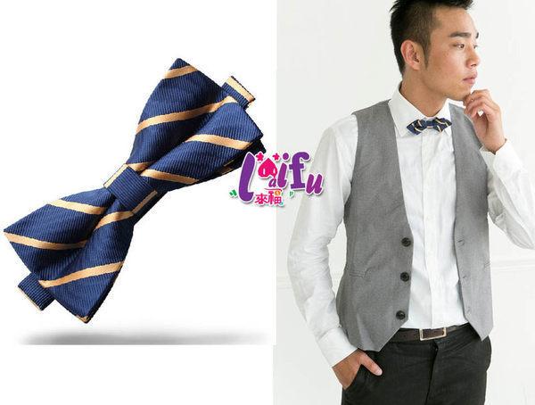 ★草魚妹★k53三角/四角藍黃糾糾領結,售價150元