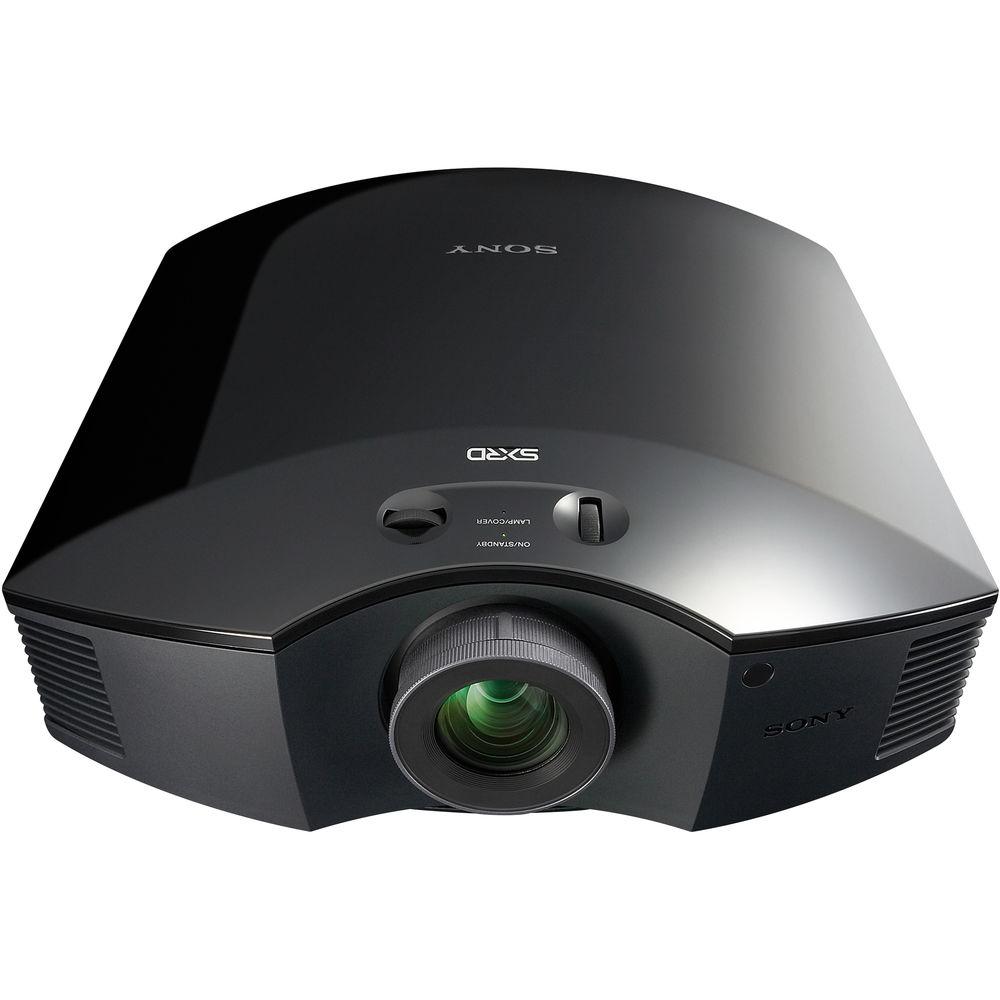 Sony VPL-HW65ES Full HD 3D SXRD Home Theater Projector (Black) VPL-HW65ES 1