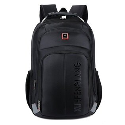 後背包純色電腦包-防水耐磨舒適休閒男雙肩包4色73ru20【獨家進口】【米蘭精品】