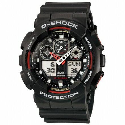 G-SHOCKGA-100-1A4時尚潮錶GA-100-1A4DR熱賣中!【迪特軍】