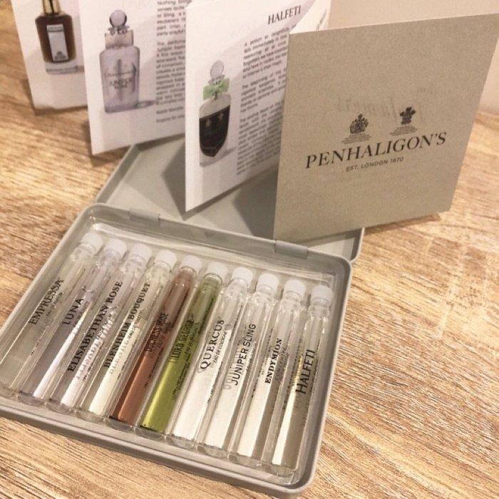 Penhaligon's 潘海利根 香氛圖書館 針管禮盒 2ml*10◐香水綁馬尾◐
