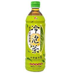 光泉 冷泡茶 冷萃綠茶 無糖 585ml