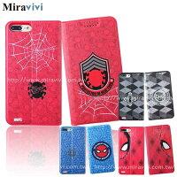 漫威英雄Marvel 周邊商品推薦MARVEL漫威iPhone7 Plus(5.5吋)蜘蛛人經典版彩繪皮套