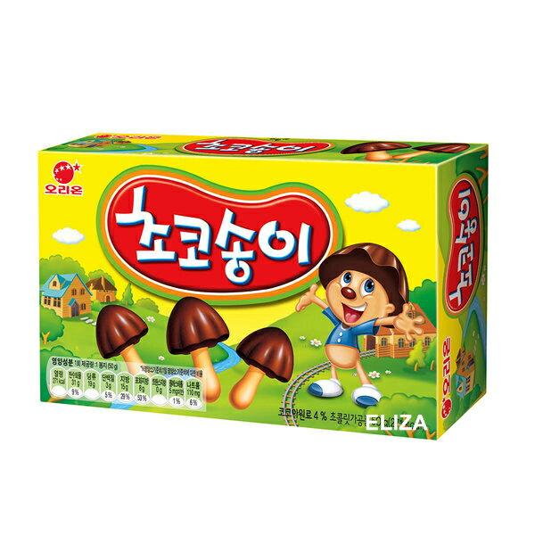 韓國 Orion 好麗友 香菇巧克力餅 50g