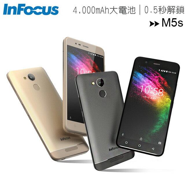 InFocus M5s (3G/32G) 5.2吋4000MA大容量電池超高續航力智慧手機