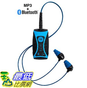 [8美國直購] 耳機 100% Waterproof Stream MP3 Music Player with Bluetooth and Underwater Headphones for Swimming